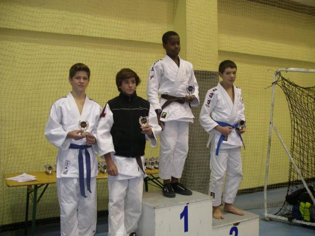Antoine B sur le podium